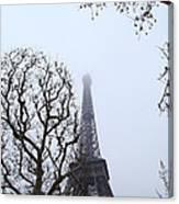 Eiffel Tower - Paris France - 011318 Canvas Print