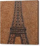 Eiffel Tower Canvas Print