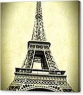 Mighty Eiffel Tower Canvas Print