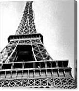 Eiffel Tower Up Close 3 Canvas Print