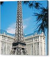 Eiffl Tower Vegas Canvas Print