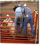 Rodeo Eight Seconds To Payday Canvas Print