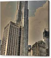 Eight Spruce Street By Gehry Canvas Print