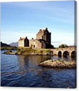 Eilean Donan Castle Kintail Scotland Canvas Print