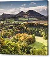 Eildon Hills   Canvas Print