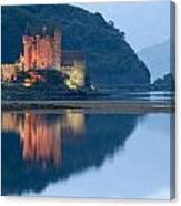 Eilean Donan Castle Dusk Canvas Print