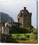 Eilean Donan Castle In Kyle Of Lochalsh Canvas Print