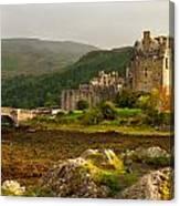 Eilean Donan Castle Scotland Canvas Print