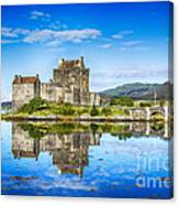 Eilean Donan Castle Reflections 2 Canvas Print