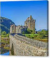 Eilean Donan Castle Walkway Canvas Print
