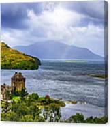 Eilean Donan Loch Duich Canvas Print