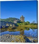 Eilean Donan Reflections Canvas Print