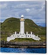 Eilean Musdile Lighthouse Canvas Print