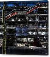 Eileen Gray At The Pompidou Canvas Print