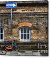 Einbahnstrasse Canvas Print