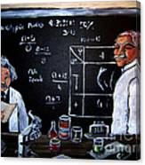 Einstein/carver Experiments Canvas Print