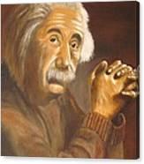 Einstein - Original  Oil Painting Canvas Print