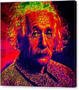 Einstein - Pop Art Canvas Print