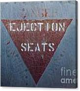 Ejection Seats Canvas Print