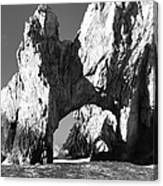 El Arco In Black And White Canvas Print