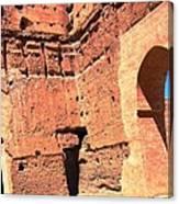 El Badi Palace 5 Canvas Print