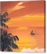 El Balneario Canvas Print