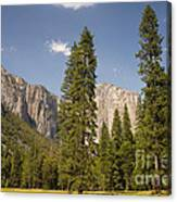 El Capitan And Yosemite Valley Canvas Print
