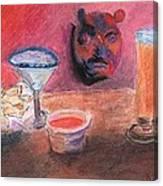 El Chico Mask Canvas Print