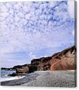 El Golfo On Lanzarote Canvas Print