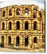 El Jem Colosseum Canvas Print