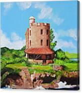 El Morrillo Fort In Matanzas Cuba Canvas Print