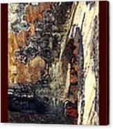 El Morro Arch With Border Canvas Print