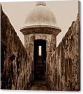 El Morro Sentry Canvas Print