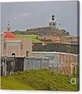 Scenic El Morro Canvas Print