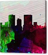 El Paseo City Skyline Canvas Print