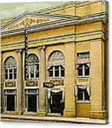 El Reno Oklahoma Opera House And Theatre 1910- Dwight Goss Canvas Print