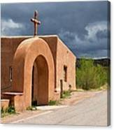 El Santuario De Chimayo Cross Canvas Print