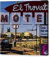 El Trovatore Motel Canvas Print