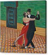 El Ultimo Tango Canvas Print