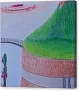 El Valle Canvas Print