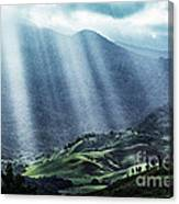 El Yunque And Sun Rays Canvas Print