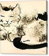 Elden Smiling Canvas Print