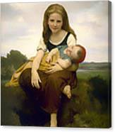 Elder Sister Canvas Print