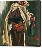 Elderly Moroccan Jew, 1867 Oil On Canvas Canvas Print