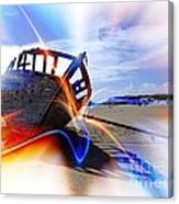 Electric Boat Canvas Print