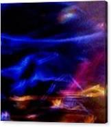 Electric Chaos Canvas Print