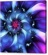 Electric Colours Canvas Print