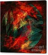 Electric Dreams Of The Ancients Canvas Print