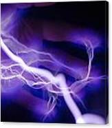 Electric Hand Canvas Print