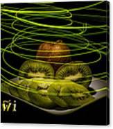 Electric Kiwi I Canvas Print